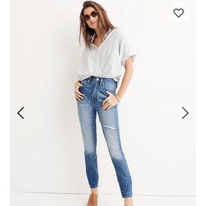Madewell Rigid Skinny Jeans Size 27